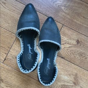Free People black flats 39 or 9 fits like 8.5